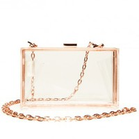 Crystal Clear Purse - ShopSosie.com