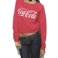 Enjoy Coca-Cola Sweatshirt | Shop Tops at Wet Seal