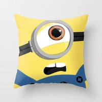 Minion Throw Pillow