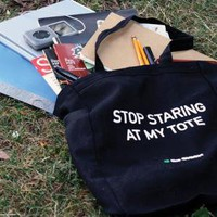 Onion Store > 'Stop Staring At My Tote' Tote