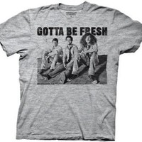 Amazon.com: Workaholics Gotta Be Fresh Heathered Grey Mens T-shirt: Penny Lane Gifts
