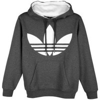 adidas Originals Big Logo Pull Over Fleece Hoodie - Men's at Champs Sports