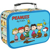 Vandor 85370 Peanuts All Stars Large Tin Tote, Multicolored