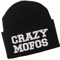 3D Crazy Mofo Beanie | fresh-tops.com