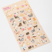Urban Outfitters - Gel Sticker Sheet