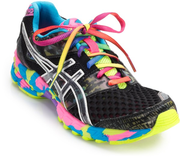Asics Gel Noosa Tri  Ladies Running Shoes Black