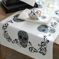 Day of the Dead Table Runner