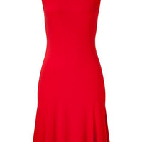 STYLEBOP.com | Red matte jersey Thandie dress by RALPH LAUREN | the latest trends from the capitals of the world