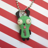 GIR Necklace by rudeandreckless on Etsy