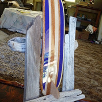 Parallel Rail Multi Stringer Long Board