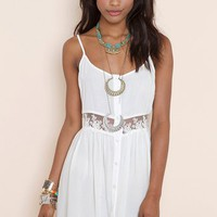 Field Day Dress - Ivory in Clothes Dresses at Nasty Gal