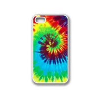 Tie Dye iPhone 4 Case White - Fits iPhone 4 & iPhone 4S