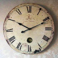 Vintage clock Extra Large French style clock - Melody Maison
