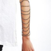 Shackle Chain Bracelet