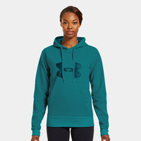 Women's Armour Fleece Storm Pulse Big Logo Hoodie | 1239243 | Under Armour US