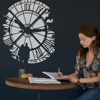 Time Fades wall decal from Threadless by Blik