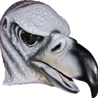 Realistic Vulture Mask: Full Face Rubber Latex Costume Mask