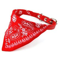 World Pride Adjustable Pet Dog Cat Bandana Scarf Collar Small Size Red:Amazon:Pet Supplies
