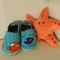 Custom Finding Nemo Toms Shoes for Pauline