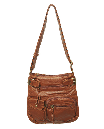 Zip Pocket Crossbody Bag Wet Seal 25