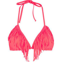 KANDY WRAPPERS Fringed Benefits Bikini Top 201789730 | swim | Tillys.com