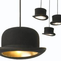 Top Hat Pendant Lights | Incredible Things
