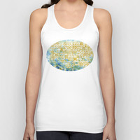 Buttons ©, digital art Unisex Tank Top by JUSTART