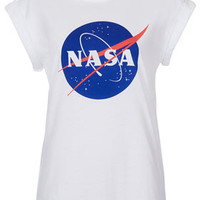 Nasa Badge Tee By Tee And Cake - Jersey Tops  - Clothing