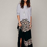 Nightcap + Free People  Gambler Print Maxi Skirt at Free People Clothing Boutique