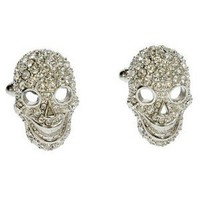 Simon Carter Skull Tattoo Cufflinks - $95