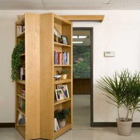 Hidden Bookcase 