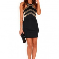 Missguided - Nedina Cut Out Embellished Dress