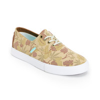 Diamond Supply Diamond Cuts Tan Weed Camo Canvas Shoe at Zumiez : PDP