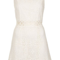 60s Lace Panel Shift Dress
