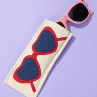 Lola Heart Shaped Sunglasses Case | Shop All Women's Accessories | fredflare.com