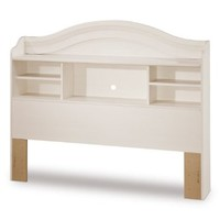 "South Shore Furniture, Summer Breeze Collection, Bookcase Headboard 54"", Vanilla Cream"