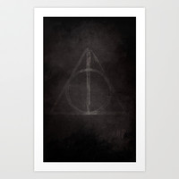 Harry potter Art Print by Whosyourdeddy