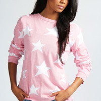 Kelly Oversized Fine Star Jumper