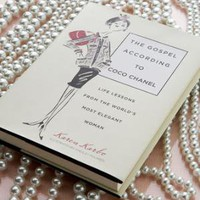 """The Gospel According to Coco Chanel"" Book - Horchow"