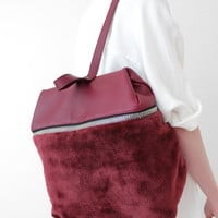 Kara Backpack - Maroon « Pour Porter