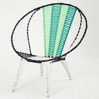 Anthropologie - Colorblocked Basket Chair