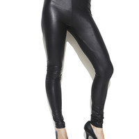 Matte Latex Legging | Shop Bottoms at Arden B