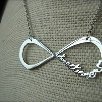 One Direction Infinity Necklace - Directioner Infinite 1D UK Boy Band