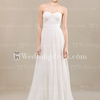 Casual Tristed Chiffon Wedding Dress BC568