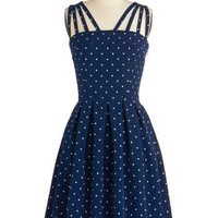 In the Mood for Dots Dress | Mod Retro Vintage Dresses | ModCloth.com