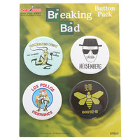Breaking Bad 4 Pin Set | Hot Topic
