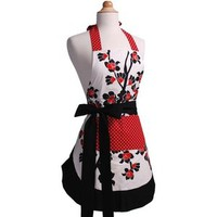 Walmart: Flirty Aprons Women's Original Apron in Cherry Blossom
