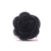 Rose Ring, Black and Pink