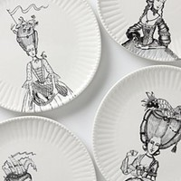 Ladies-In-Waiting Dinner Plate-Anthropologie.com