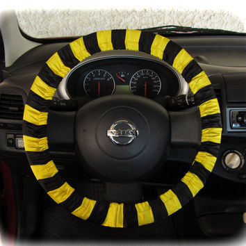 by (CoverWheel) Steering wheel cover for wheel car accessories, Bee wheel cover